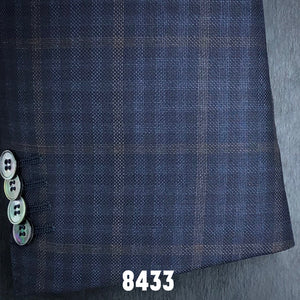 Navy Check w/ Tan Accent | Men's Sport Coat | Contemporary Fit