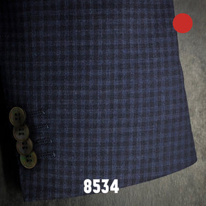 Navy Check | Men's Sport Coat | Contemporary Fit