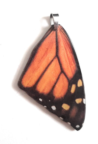 Painted Butterfly Wing Pendants