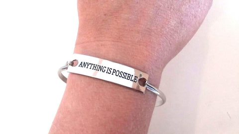 Inspirational Message Jewelry