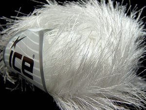 Long Eyelash Yarn - White