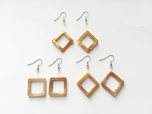 Earrings Kit - Make 3 Pairs Diamond/Square Earrings