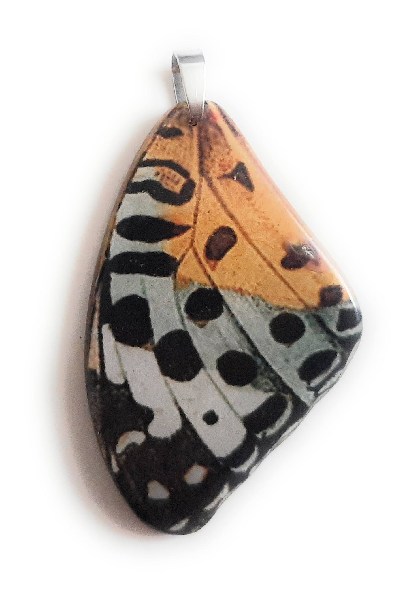 Painted Butterfly Wing Pendant BW04-Large