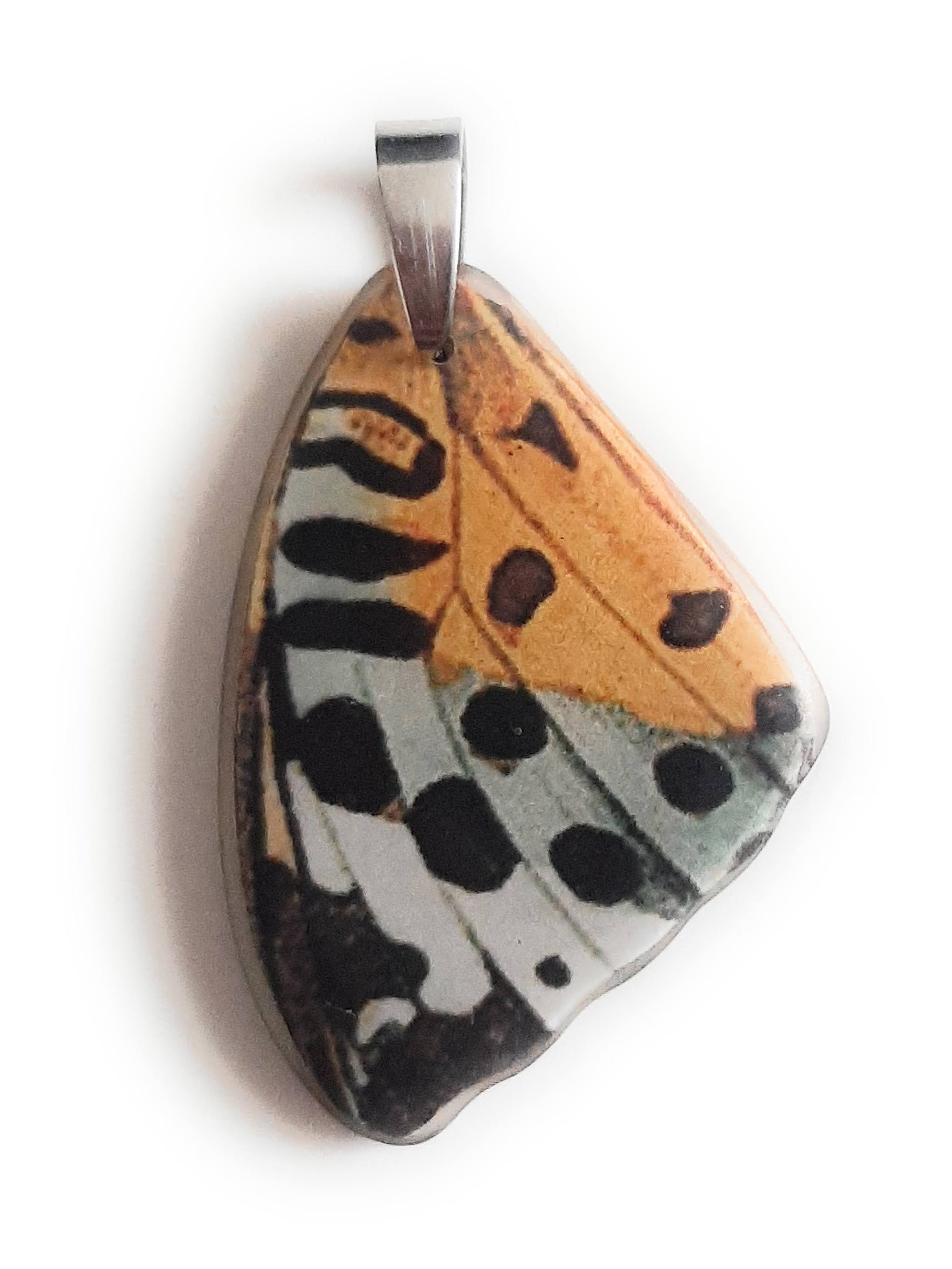 Painted Butterfly Wing Pendant BW04-Small