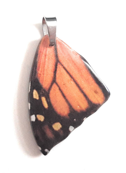 Painted Butterfly Wing Pendant BW01-Small