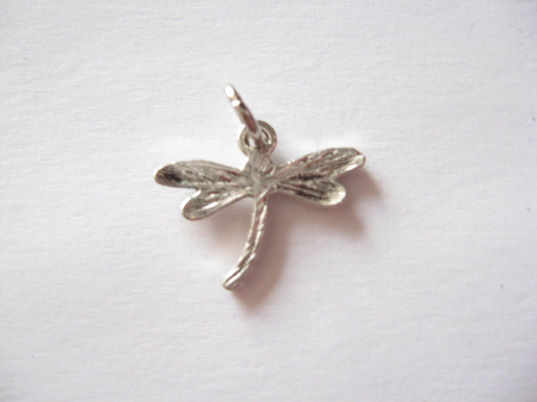 Antique Silver Dragonfly Pendant Charms