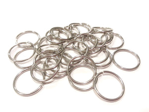 32 Stainless Steel Jump Rings 22mm