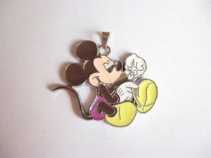 Disney's Mickey Mouse with Flower Pendant