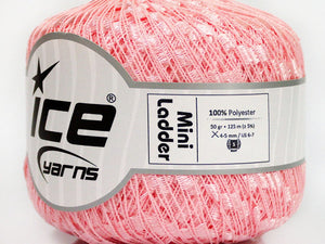 Trellis Ladder Yarn - Pinkalicious (mini)