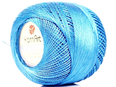 Crochet Tulip Thread - Blue