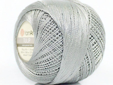 Crochet Tulip Thread - Gray
