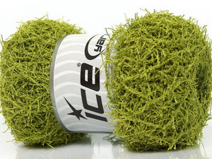 Scrubber Twist Yarn - Lime Green