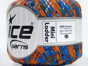 Trellis Ladder Yarn - Cheerleader (mini)
