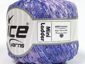 Trellis Ladder Yarn - Lilac (mini)