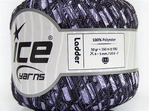 Trellis Ladder Yarn - Lilac Breeze