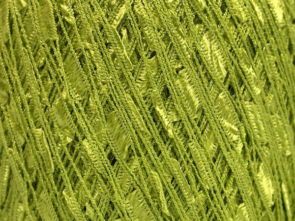 Trellis Ladder Yarn - Lime