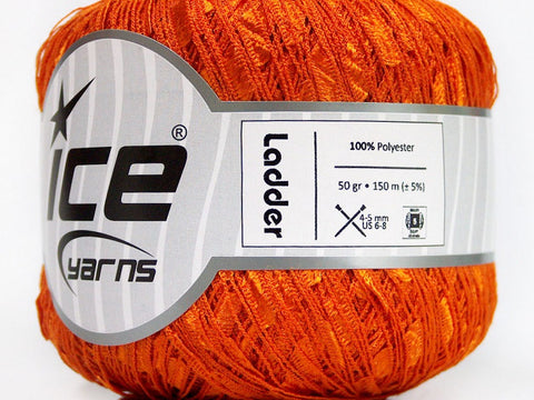 Trellis Ladder Yarn - Orange Grove