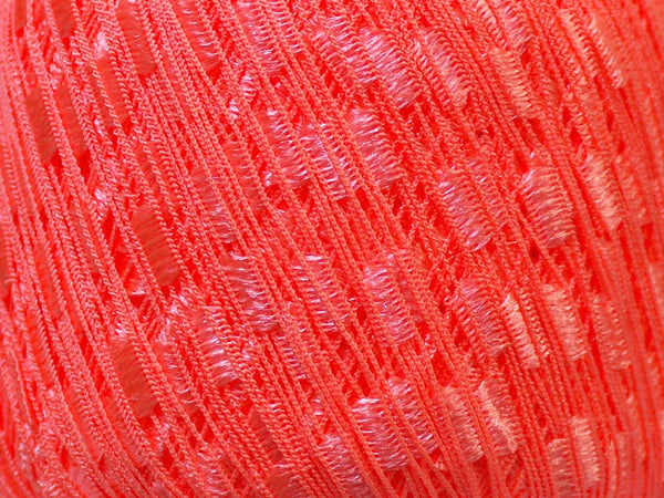 Trellis Ladder Yarn - Peachy