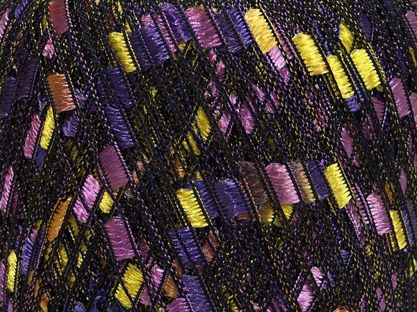 Trellis Ladder Yarn - Purple Pop