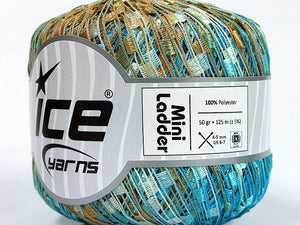 Trellis Ladder Yarn - Sandcastle (mini)