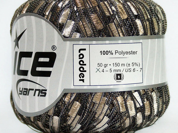 Trellis Ladder Yarn - Sandstone