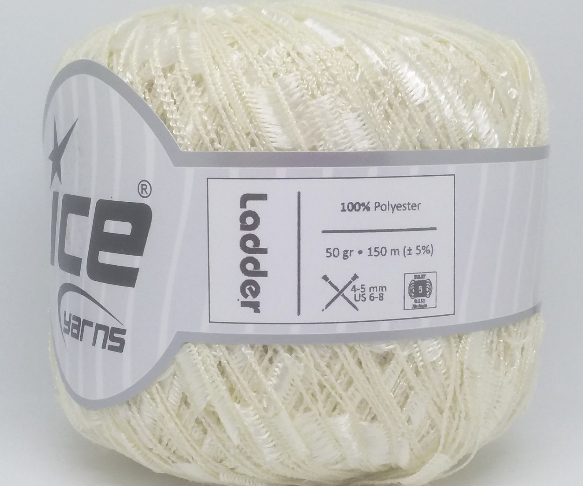 Trellis Ladder Yarn - Vanilla