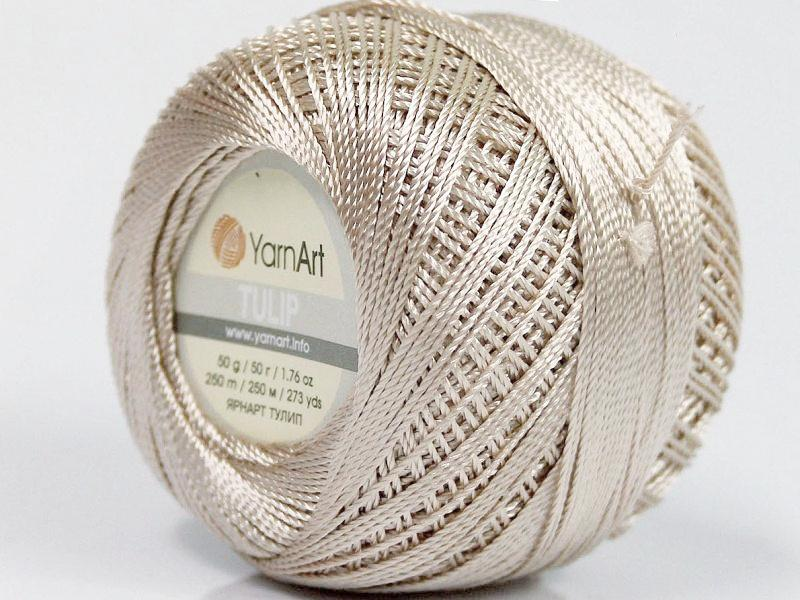 Crochet Tulip Thread - Beige