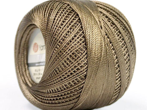 Crochet Tulip Thread - Brown