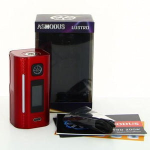 ASMODUS LUSTRO 200W BOX MOD - League of Vapes