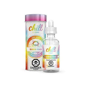 CHILL E-LIQUIDS RAINBOW PUNCH - League of Vapes