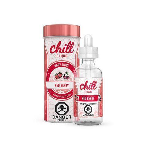 CHILL E-LIQUIDS RED BERRY - League of Vapes