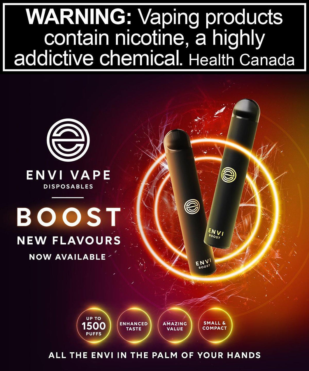 ENVI Disposable - Envi Boost - League of Vapes