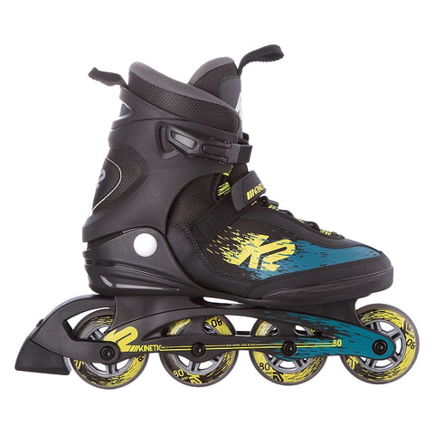 Patines K2 Kinetic 80 Verde/Amarillo
