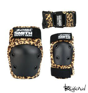 protecciones smith youth leopardo