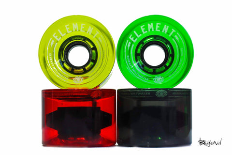 RUEDAS ELEMENT RASTA 70mm