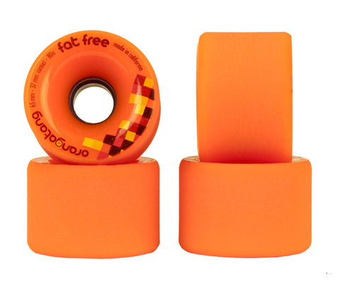 RUEDAS ORANGATANG FAT FREE 65mm/80a
