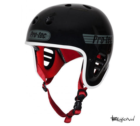 Casco PRO TEC FULL CUT BLACK GLOSS