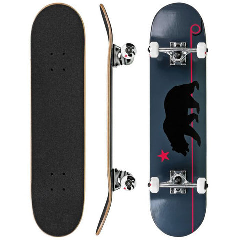 "PATINETA R D GRAY CALI BEAR 7.5"" x 31"""