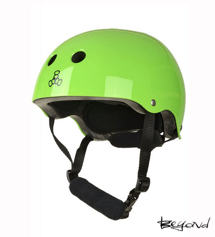Casco TRIPLE 8 LIL NEON GREEN