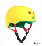 Casco TRIPLE 8 RASTA AMARILLO