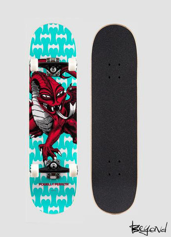 PATINETA POWELL PERALTA CAB DRAGON ONE OFF TEAL 7.75