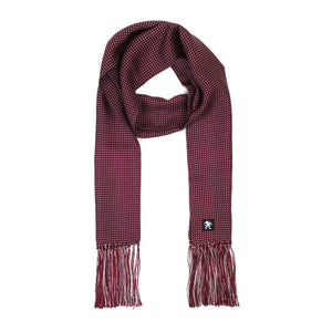 KING JAMES SIGNATURE SILK SCARF MULBERRY