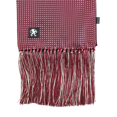 Image of LICHTENSTEIN SILK SCARF MULBERRY