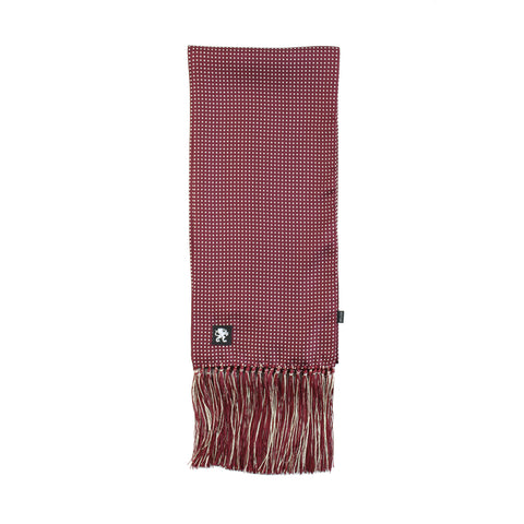 Image of KING JAMES SIGNATURE SILK SCARF MULBERRY