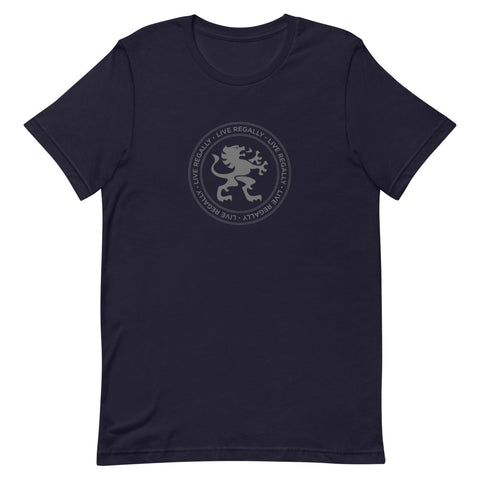 Image of LIVE REGALLY T-SHIRT UNISEX