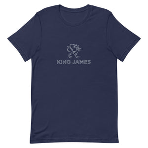 KING JAMES T-SHIRT UNISEX