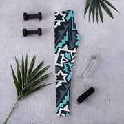 Icy Graffiti Capri Leggings