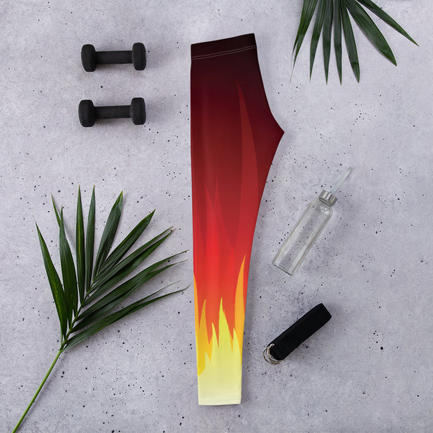 Rising Fire Full-Length Legging