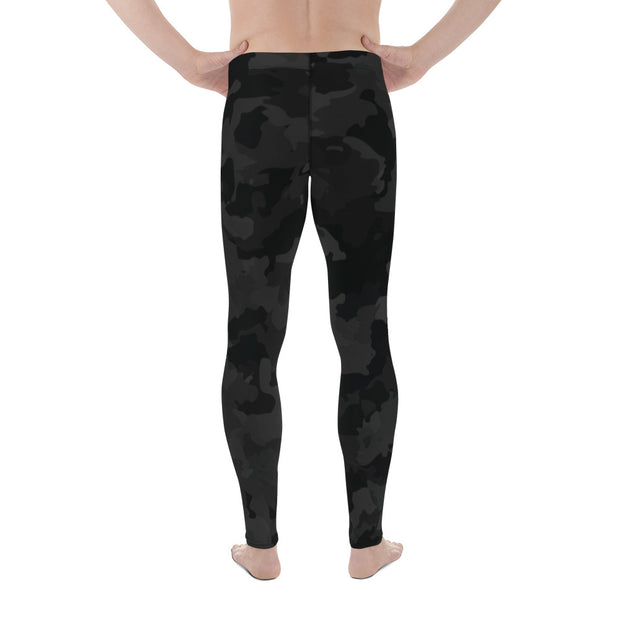 Black Camo Men's Leggings