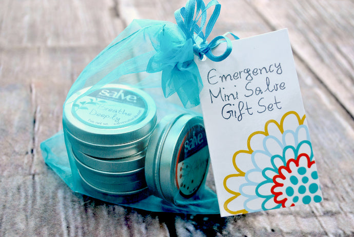5 Piece Emergency Salve Gift Set